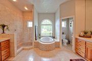Mediterranean Style House Plan - 3 Beds 3.5 Baths 3231 Sq/Ft Plan #124-713 Interior - Master Bathroom