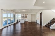Contemporary Style House Plan - 4 Beds 4.5 Baths 4021 Sq/Ft Plan #892-30 Interior - Dining Room