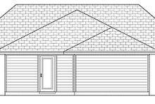 Home Plan - Cottage Exterior - Rear Elevation Plan #84-446