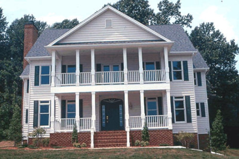 Colonial Exterior - Other Elevation Plan #20-1104 - Houseplans.com