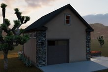House Plan Design - Country Exterior - Rear Elevation Plan #1060-90