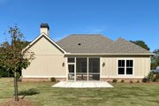Craftsman Style House Plan - 3 Beds 2.5 Baths 2136 Sq/Ft Plan #437-113 Exterior - Rear Elevation
