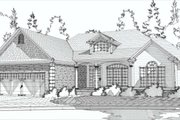 Traditional Style House Plan - 3 Beds 2 Baths 1897 Sq/Ft Plan #63-191