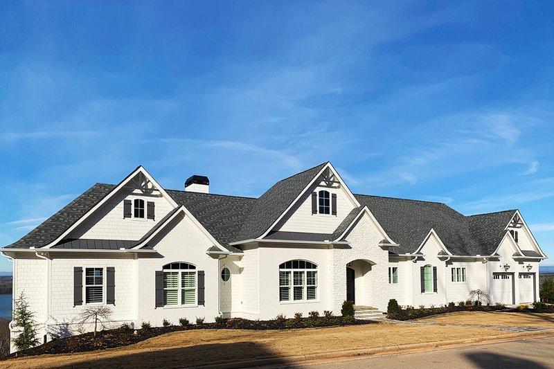 Home Plan - Craftsman Exterior - Front Elevation Plan #437-96