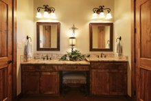 Home Plan - Ranch Interior - Bathroom Plan #140-149