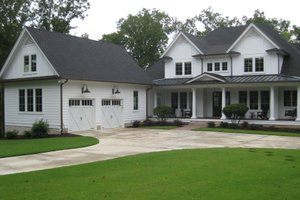 Country Exterior - Front Elevation Plan #1054-95