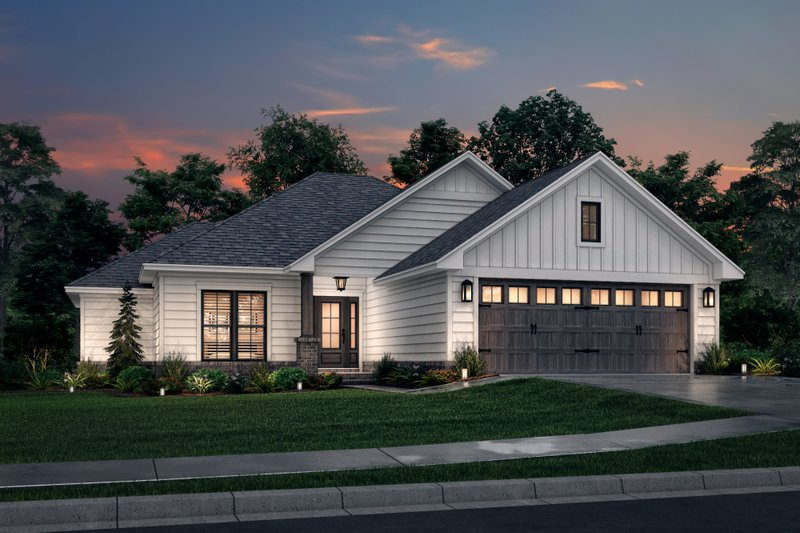 Home Plan - Traditional Exterior - Front Elevation Plan #430-134