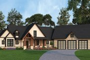 Country Style House Plan - 3 Beds 2.5 Baths 2666 Sq/Ft Plan #119-365 Exterior - Front Elevation