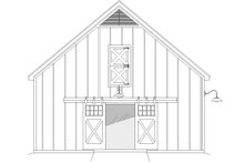 Southern Exterior - Other Elevation Plan #932-106