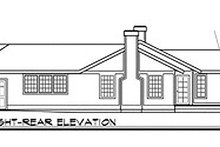 Ranch Exterior - Other Elevation Plan #124-120
