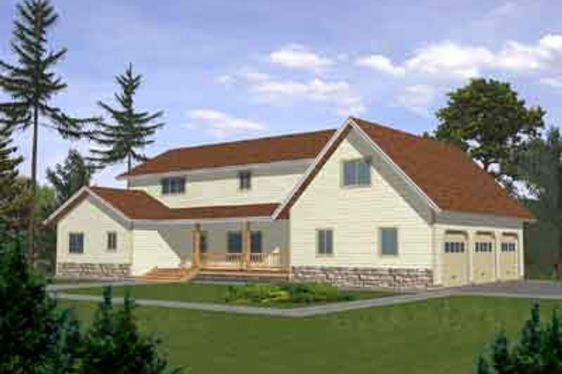 Traditional Exterior - Front Elevation Plan #117-274