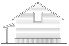 Country Exterior - Rear Elevation Plan #124-993