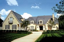 Dream House Plan - European Exterior - Front Elevation Plan #453-26