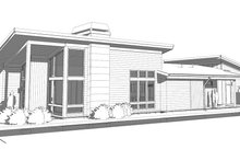 House Plan Design - Modern Exterior - Other Elevation Plan #895-124