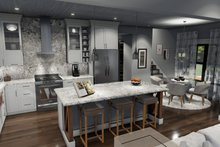 Farmhouse Interior - Kitchen Plan #120-270