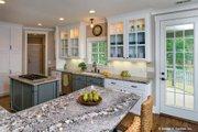 European Style House Plan - 4 Beds 4 Baths 2401 Sq/Ft Plan #929-4 Interior - Kitchen