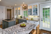 Home Plan - European Interior - Kitchen Plan #929-4