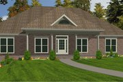 Farmhouse Style House Plan - 4 Beds 2 Baths 2905 Sq/Ft Plan #63-226 Exterior - Front Elevation