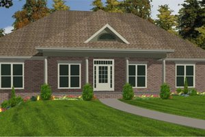 Farmhouse Exterior - Front Elevation Plan #63-226