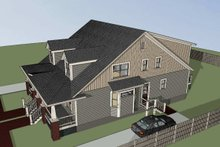Dream House Plan - Craftsman Exterior - Other Elevation Plan #79-249