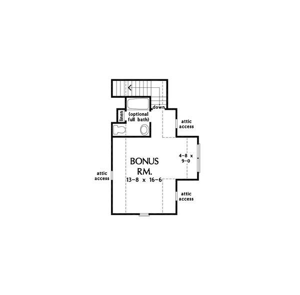Home Plan - Cottage Floor Plan - Other Floor Plan #929-1132
