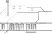 Dream House Plan - European Exterior - Rear Elevation Plan #406-114