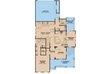 Farmhouse Floor Plan - Main Floor Plan Plan #923-103