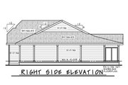 Farmhouse Style House Plan - 3 Beds 2 Baths 1359 Sq/Ft Plan #20-2444 Exterior - Front Elevation