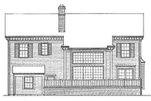 Home Plan Design - Southern Exterior - Other Elevation Plan #72-148