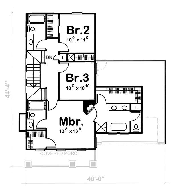 Home Plan - Craftsman Floor Plan - Other Floor Plan #20-1217