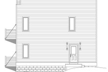 House Plan Design - Contemporary Exterior - Other Elevation Plan #932-292