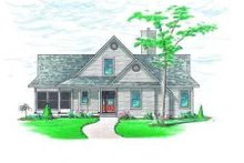 Dream House Plan - Traditional Exterior - Other Elevation Plan #23-385