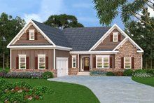 Dream House Plan - Traditional Exterior - Front Elevation Plan #419-146