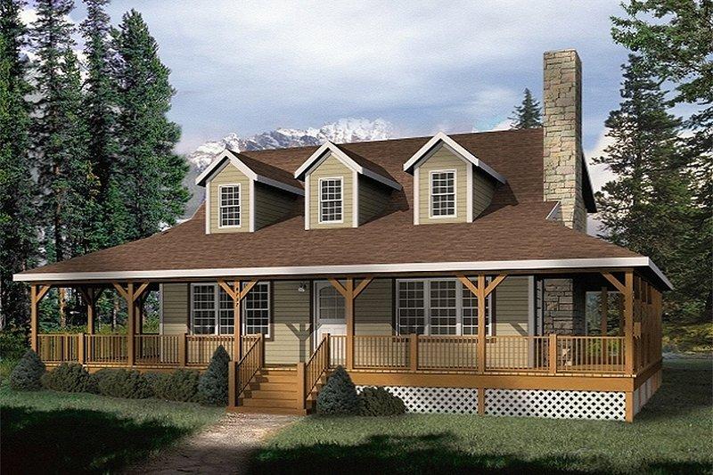Farmhouse Style House Plan - 3 Beds 2 Baths 1879 Sq/Ft Plan #22-219