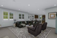 Architectural House Design - Traditional Interior - Family Room Plan #1060-100