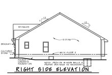 Dream House Plan - Farmhouse Exterior - Other Elevation Plan #20-2462