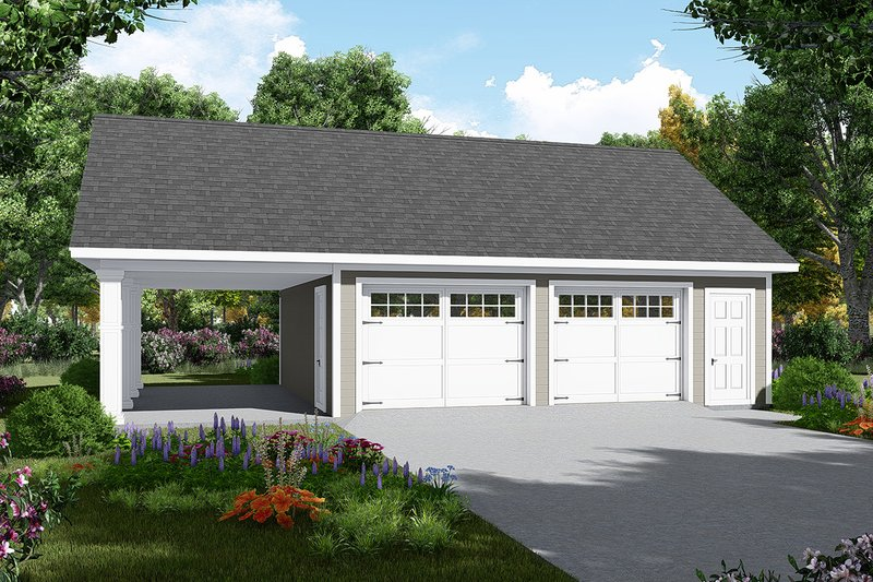 Home Plan - Traditional Exterior - Front Elevation Plan #21-457