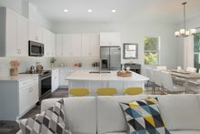Home Plan - Beach Interior - Kitchen Plan #938-108