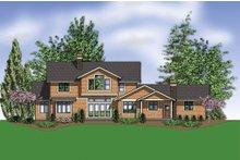 Craftsman Exterior - Rear Elevation Plan #48-249