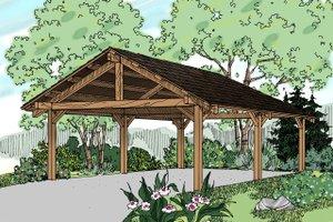 Craftsman Exterior - Front Elevation Plan #124-894
