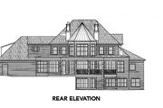 European Style House Plan - 4 Beds 3.5 Baths 3912 Sq/Ft Plan #119-123 Exterior - Other Elevation