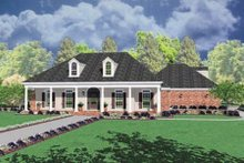 Traditional Exterior - Front Elevation Plan #36-210
