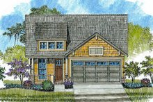 Home Plan - Cottage Exterior - Other Elevation Plan #430-25
