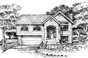 Traditional Exterior - Front Elevation Plan #320-138