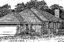 Home Plan Design - Colonial Exterior - Front Elevation Plan #310-747