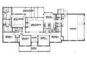 Ranch Style House Plan - 4 Beds 3 Baths 2190 Sq/Ft Plan #935-2 Floor Plan - Main Floor