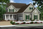 Farmhouse Style House Plan - 4 Beds 2 Baths 2510 Sq/Ft Plan #21-331 Exterior - Front Elevation
