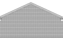 Country Exterior - Rear Elevation Plan #932-270