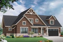 Dream House Plan - Farmhouse Exterior - Front Elevation Plan #23-2732