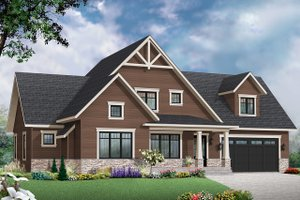 Farmhouse Exterior - Front Elevation Plan #23-2732